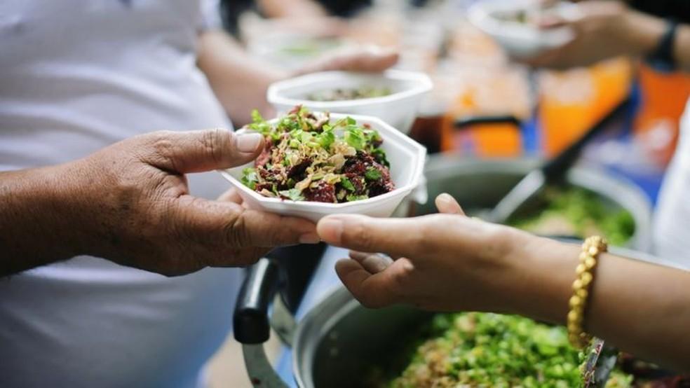 Desertos alimentares estão espalhados por todo o país — Foto: Getty Images