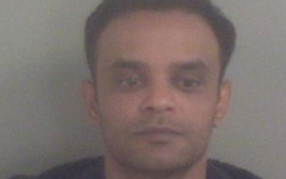 Ashraf Miah foi condenado a 13 anos de prisão (Foto: BBC/Polícia de Kent)