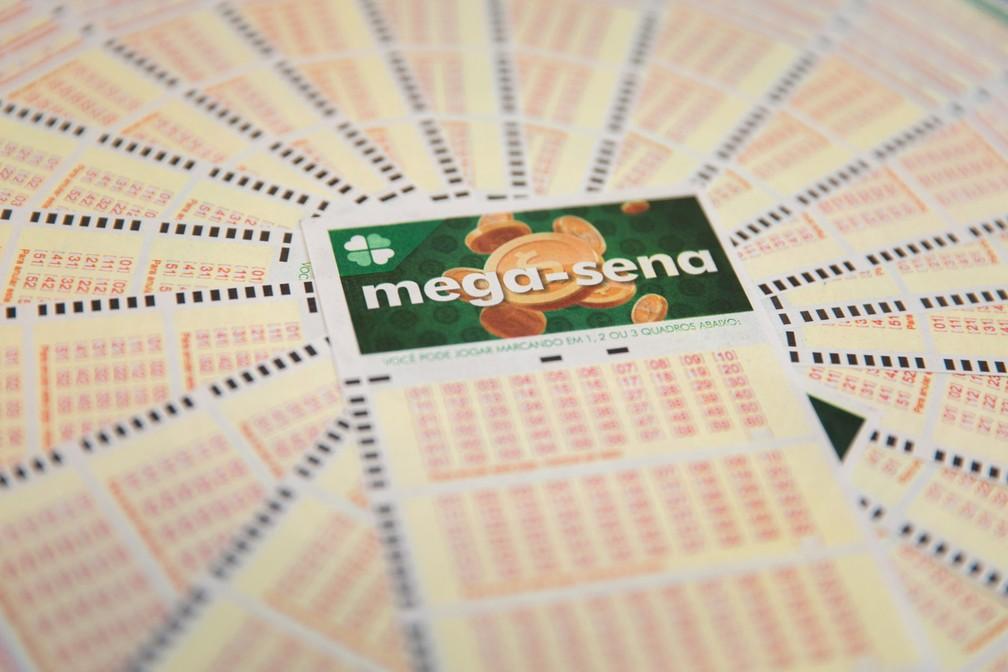 Mega-Sena: sorteio do concurso 2.144 ocorreu neste sábado (20) — Foto: Marcelo Brandt/G1