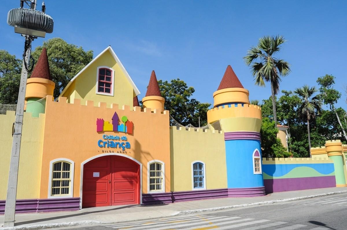 Cidade da Criança, em Campos, RJ, terá teatro e histórias neste final de semana