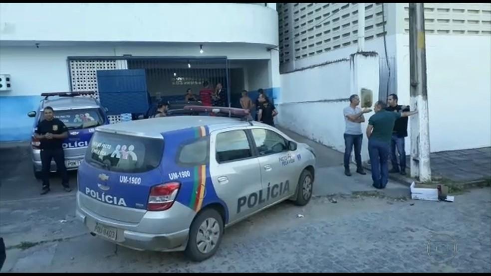 Polícia Civil de Pernambuco deflagrou operação na Zona da Mata Norte (Foto: Reprodução/ TV Globo)