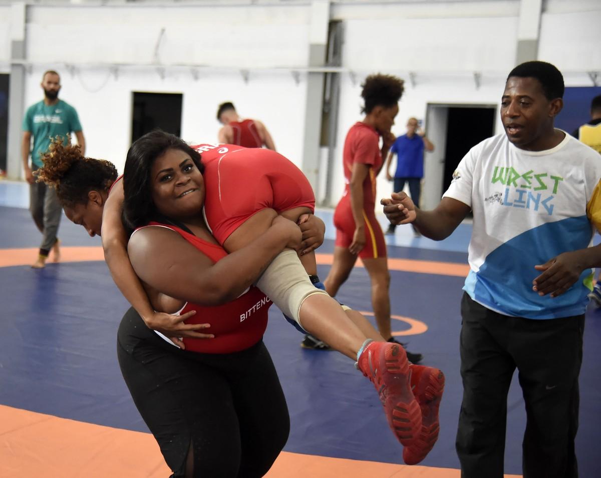 f53d4b5c5885b Que touch foi esse ! Jojo Todynho volta às origens e vive dia de wrestler  no Rio