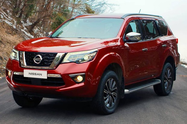 Nissan Terra foi revelado na China (Foto: Divulgação)
