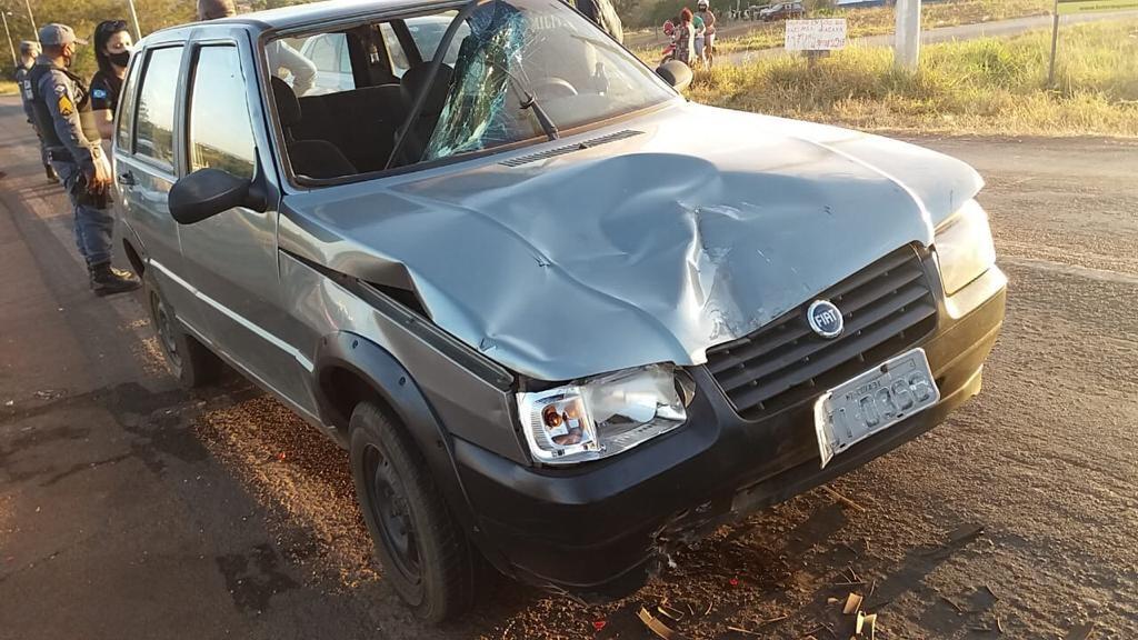 Vereador embriagado é preso após causar acidente e dois motociclistas vão para o hospital em MT