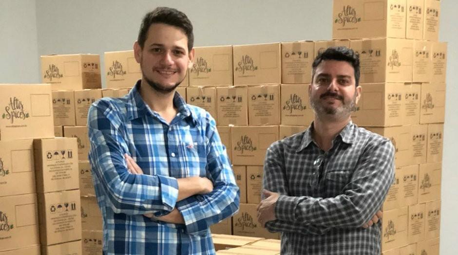Gilberto Campostrini de Oliveira e Paulo Henrique Demoner Pazeto (Foto: Divulgação)
