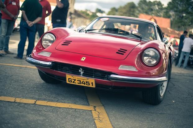 Ferrari Dino 246 GTS (Foto: Fábio Aro)
