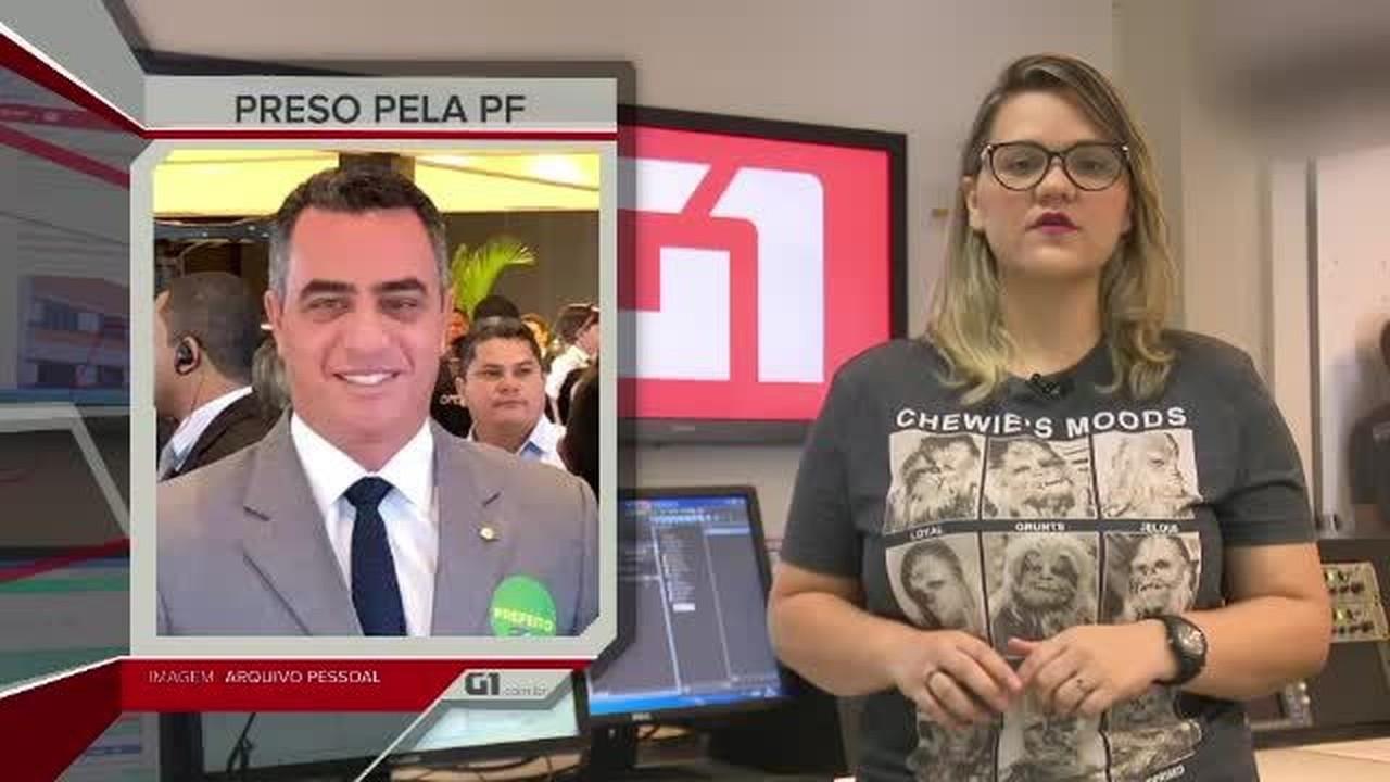 G1 em 1 minuto – Acre: prefeito de Senador Guiomard é preso pela PF