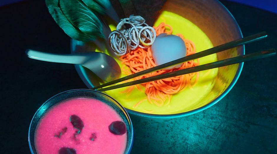 Experiência gastronômica no Nakamura.ke terá comida e bebida fluorescentes (Foto: Instagram/Nakamura.ke)