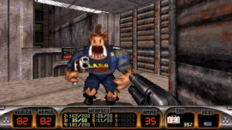 Há 20 anos Duke Nukem 3D reformulou o clássico personagem para um novo público (Foto: Divulgação/3D Realms) (Foto: Há 20 anos Duke Nukem 3D reformulou o clássico personagem para um novo público (Foto: Divulgação/3D Realms))