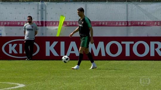 Portugal abre mão do treino da véspera no Lujniki antes de pegar Marrocos