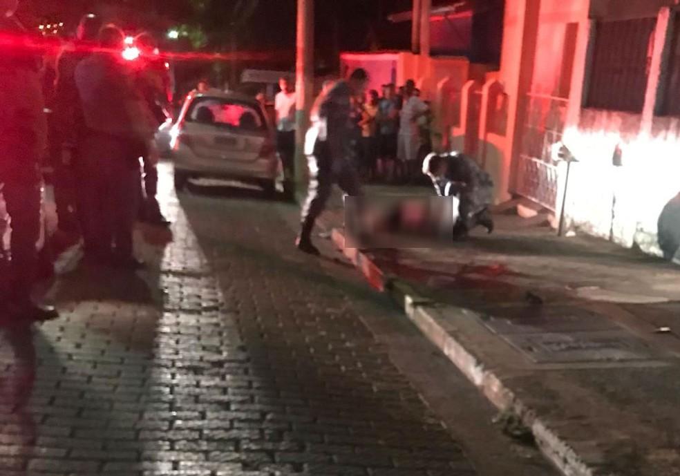 Suspeito de assalto morre em troca de tiros com PM em Cruzeiro — Foto: Rede Policial/ Reprodução