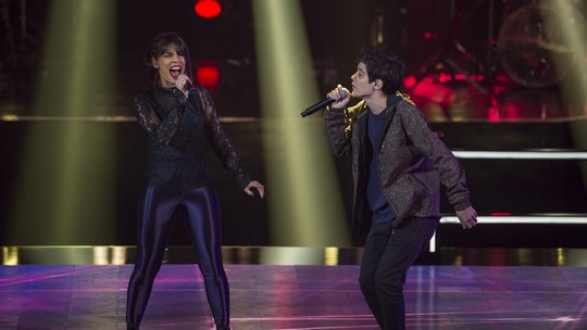 Carol Coutas e Dan Abranches, do Time Lulu, disputam as Batalhas do 'The Voice', veja como foi