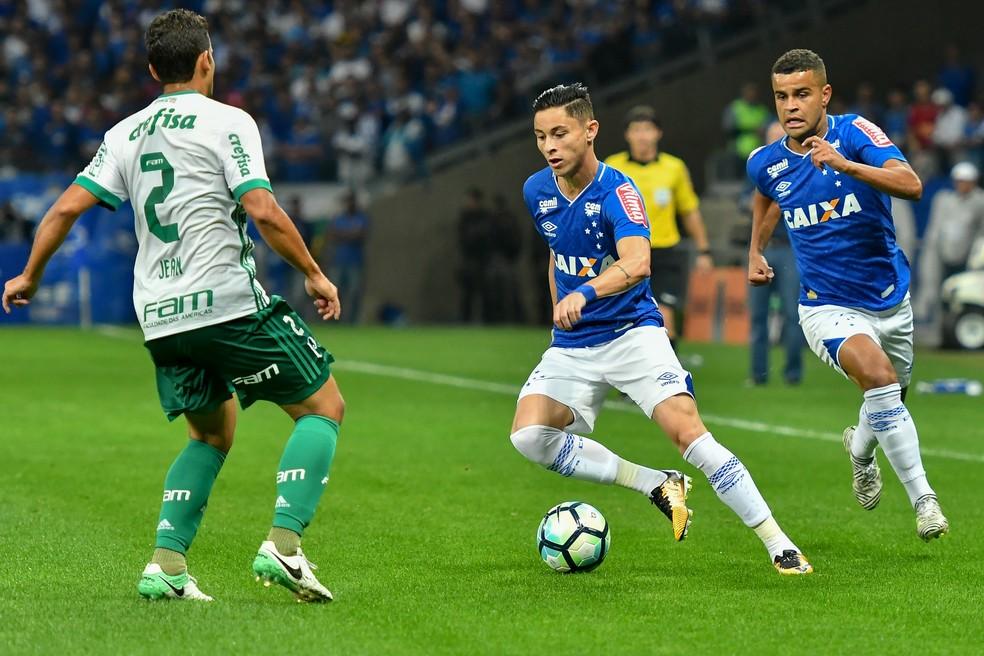 Diogo Barbosa e Alisson foram parceiros no Cruzeiro  — Foto: Agência Estado