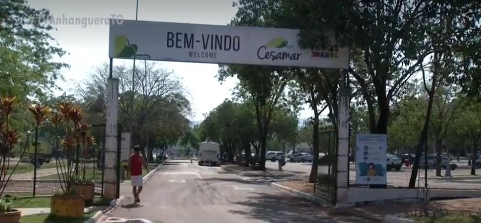 Cesamar voltou a receber visitantes após meses fechado — Foto: Reprodução/TV Anhanguera
