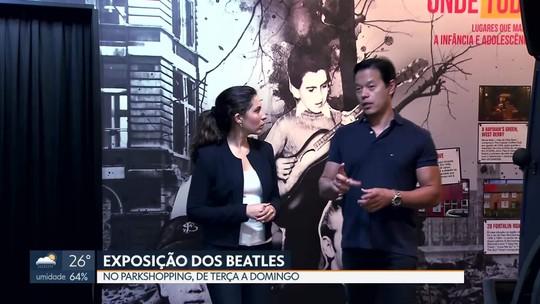 Exposição conta a história dos Beatles