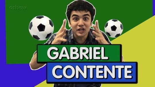Gabriel Contente e Natalia Grimberg tentam vencer o Quiz da Copa