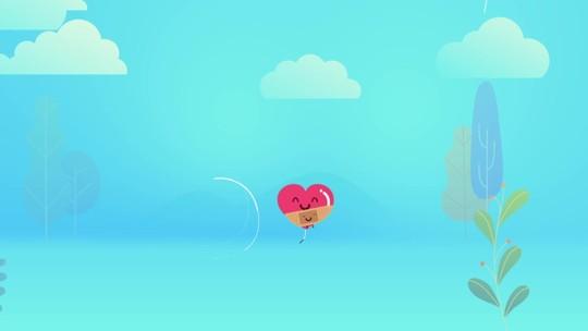 Curitiba amanheceu tomada por balões vermelhos neste Dia dos Namorados