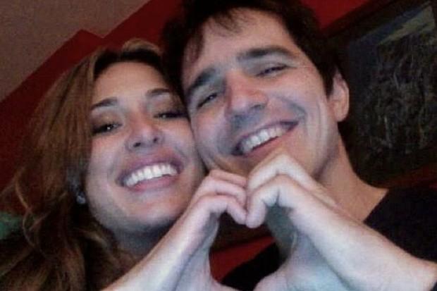 Giselle Itié e o ex-namorado, Rodrigo Gimenes (Foto: Reprodução/Instagram)