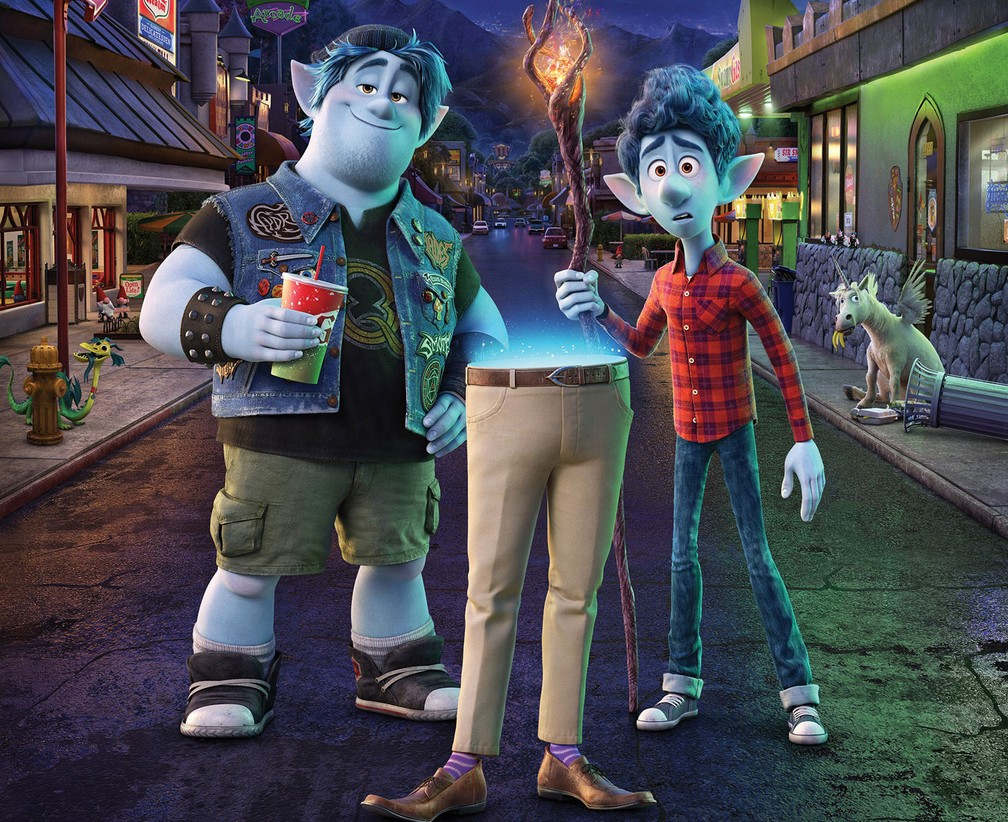 Cena da animação 'Dois irmãos' — Foto: Divulgação/Pixar
