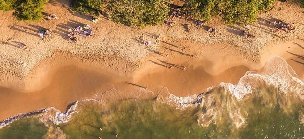 Praia na Ilha do Boi — Foto: Yuri Barichivich/ On Filmes