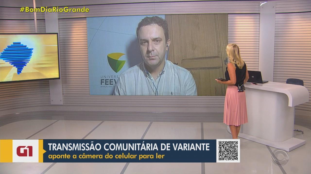 Professor de virologia fala sobre transmissão da variante brasileira do coronavírus no RS