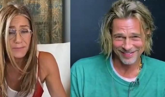 Jennifer Aniston chama Brad Pitt de 'sexy' em leitura de cena e fãs piram