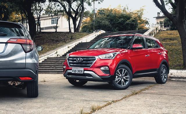 Lançado há dois anos no Brasil, o Hyundai Creta mantém o design que estreou já atualizado em relação ao homônimo indiano.  (Foto: Fabio Aro)