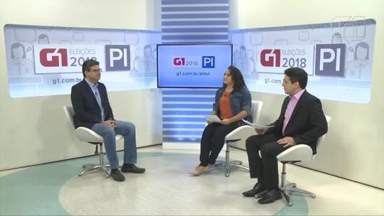 G1 entrevista Luciano Nunes, candidato ao governo do Piauí pelo PSDB