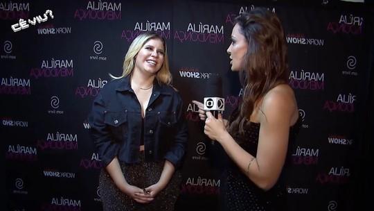 Cecília Ribeiro entrevista Marília Mendonça no Festeja Juiz de Fora