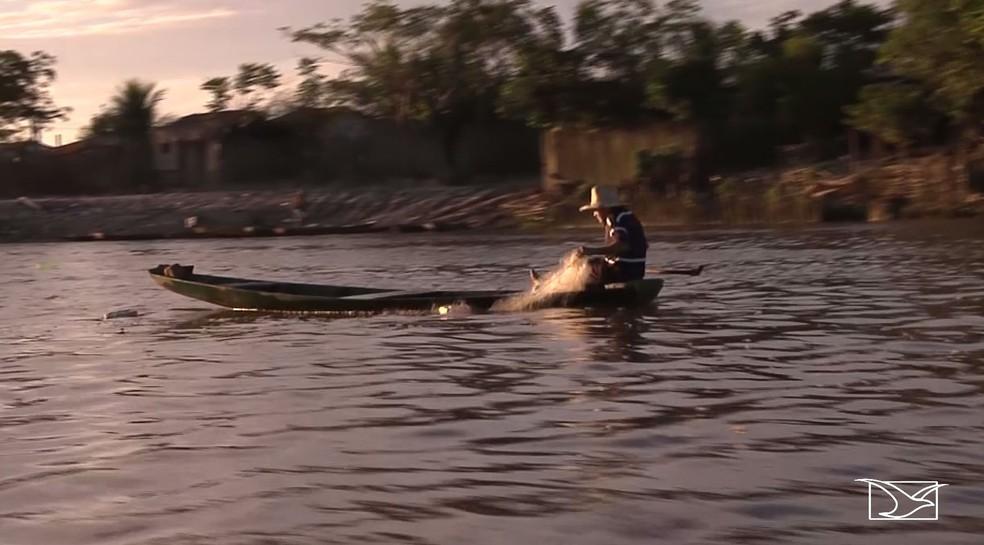 Polícia Militar intensifica combate a pesca predatória no Rio Pindaré  — Foto: Reprodução/TV Mirante