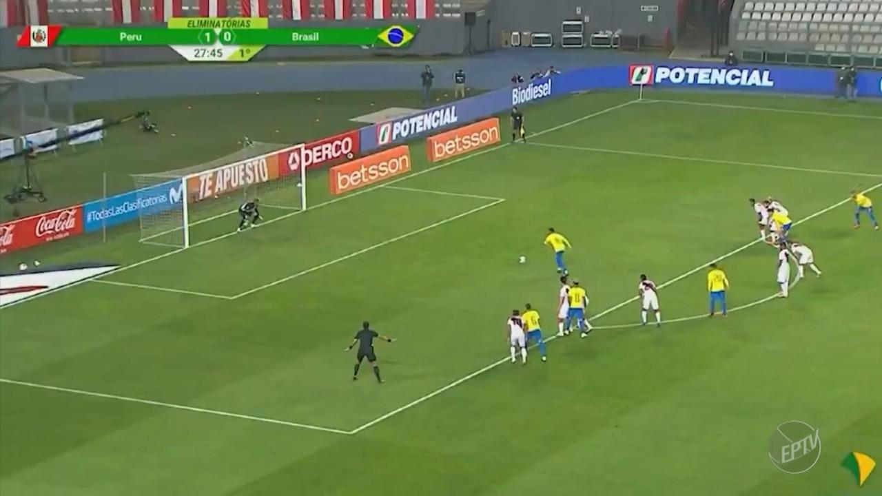 Brasil vence o Peru e Neymar supera Ronaldo na artilharia da seleção brasileira