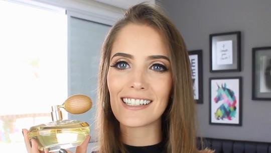 Blogueira Luiza Rossi ganha produtos da linha Lily, de O Boticário.