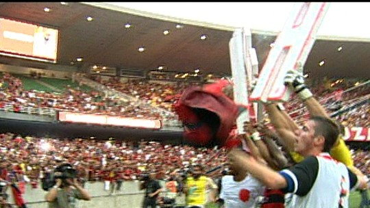 Na história e com histórias: uma década depois, personagens contam causos do Flamengo de 2009