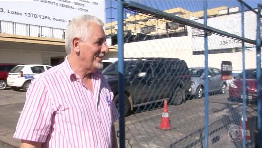 Henrique Pizzolato deixa o Complexo da Papuda em Brasília