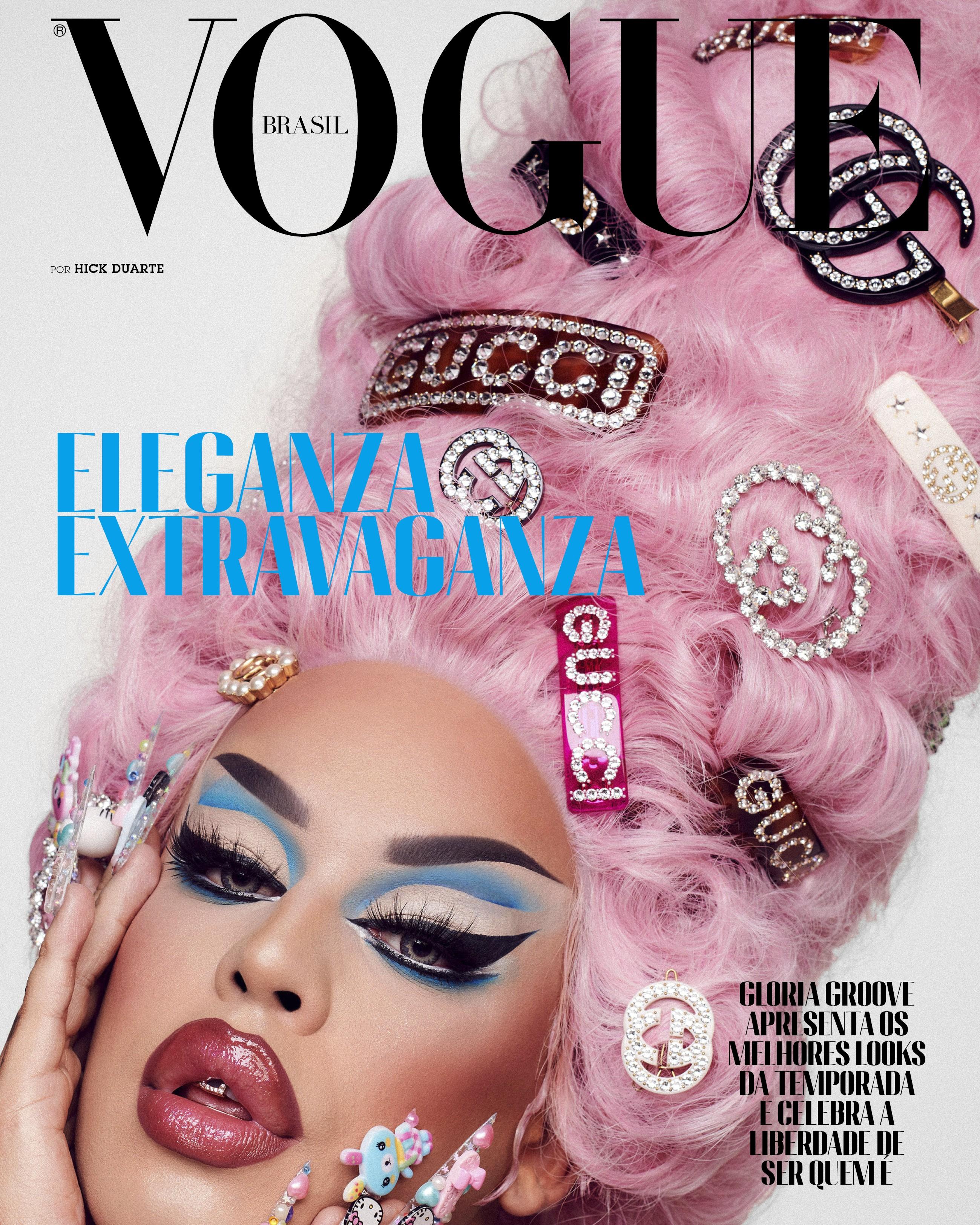 Gloria Groove para Vogue de outubro (Foto: Vogue Brasil/ Hick Duarte)