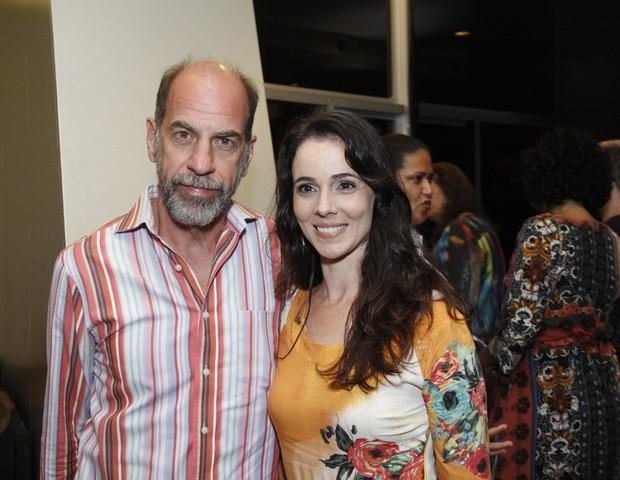 Miriam Freeland e Roberto Bomtempo (Foto: Wallace Barbosa/AgNews)