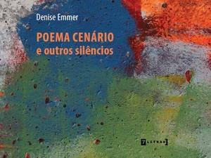 Detalhe da capa de Poema Cenário e Outros Silêncios (Foto: 7Letras/Divulgação)