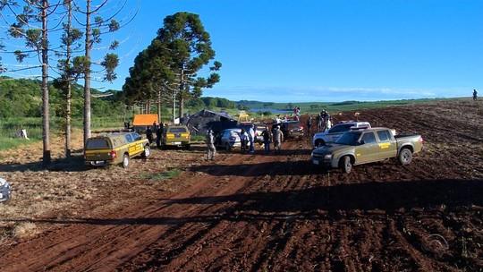 Indígenas são presos pela PF por invasão de terras no Norte do RS
