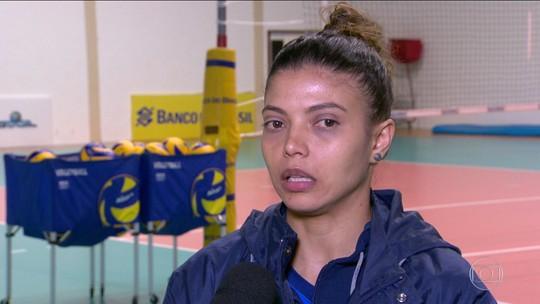 Após boa atuação no Grand Prix, Léia vive expectativa de substituir Fabi no posto de líbero na Olimpíada