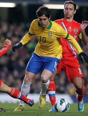 Kaká Brasil x Rússia (Foto: Wander Roberto / Vipcomm)