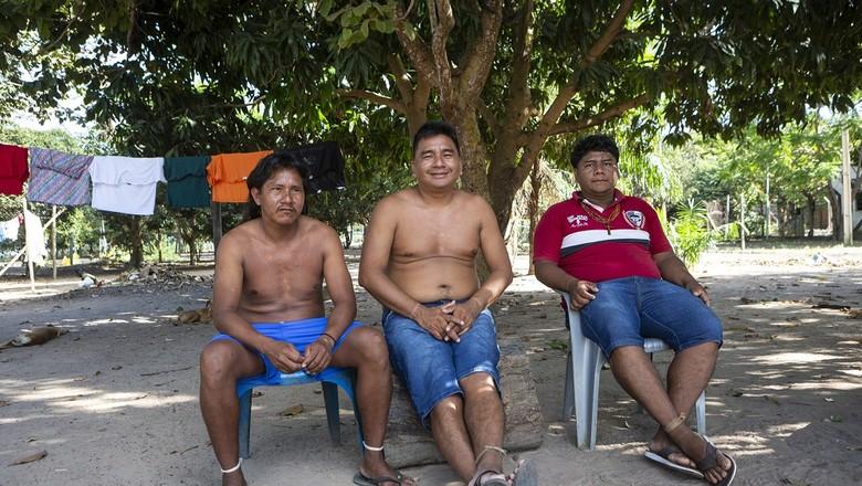 indigenas-br-158-caminhos-da-safra (Foto: Fernando Martinho/Ed.Globo)