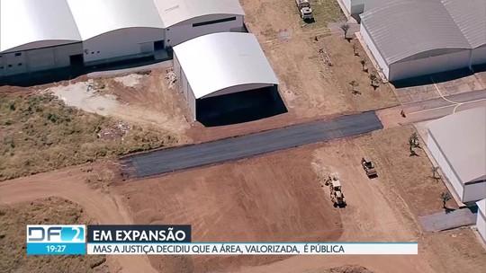 Aeródromo de São Sebastião tem obras particulares pra todo lado