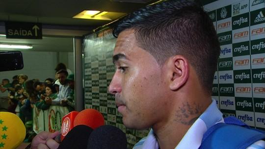 """Dudu admite frustração por """"não"""" à China, mas diz: """"Estou feliz no Palmeiras"""""""
