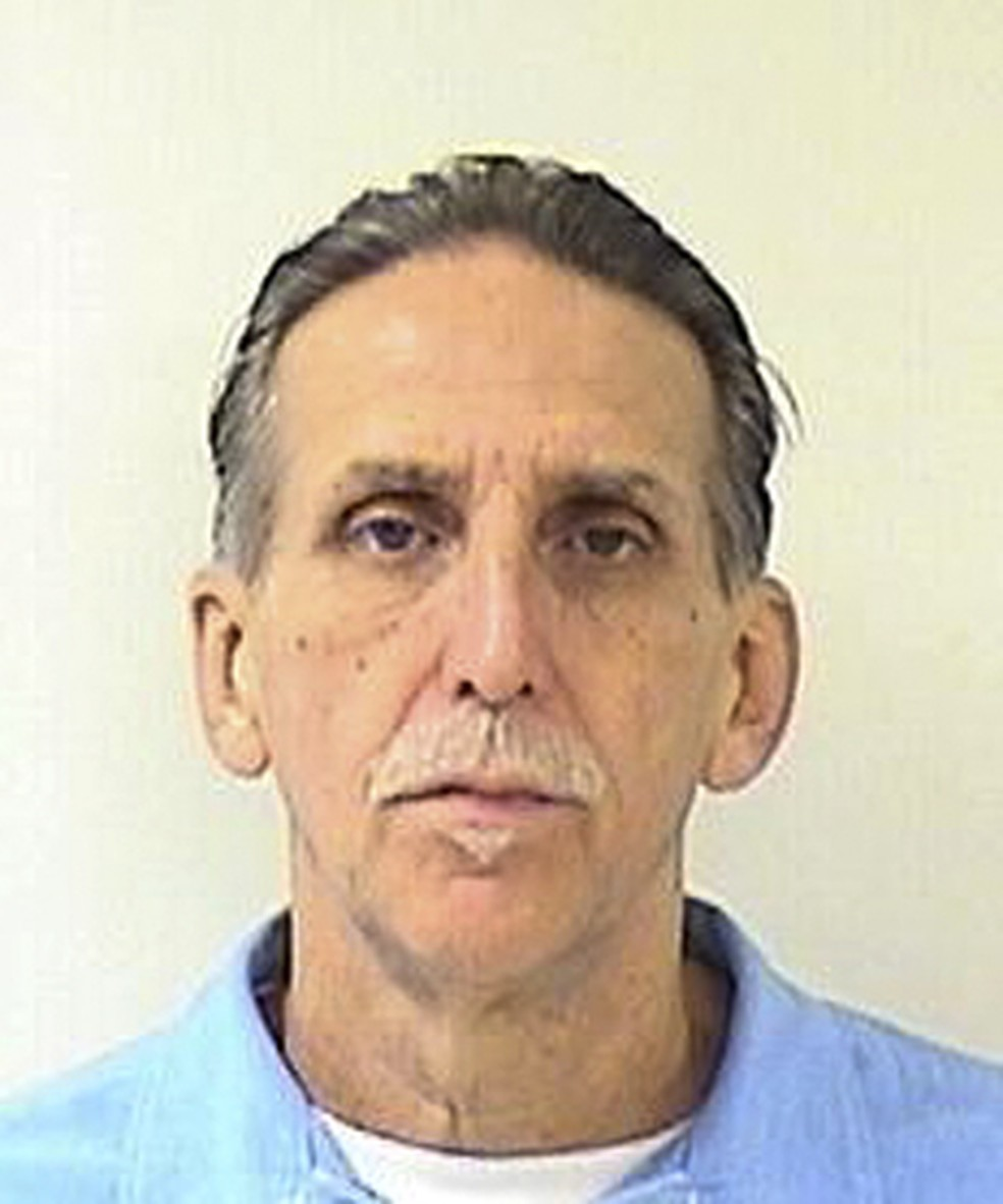 Craig Coley, em imagem sem data feita no presídio onde cumpria pena (Foto: California Department of Corrections and Rehabilitation/AP)