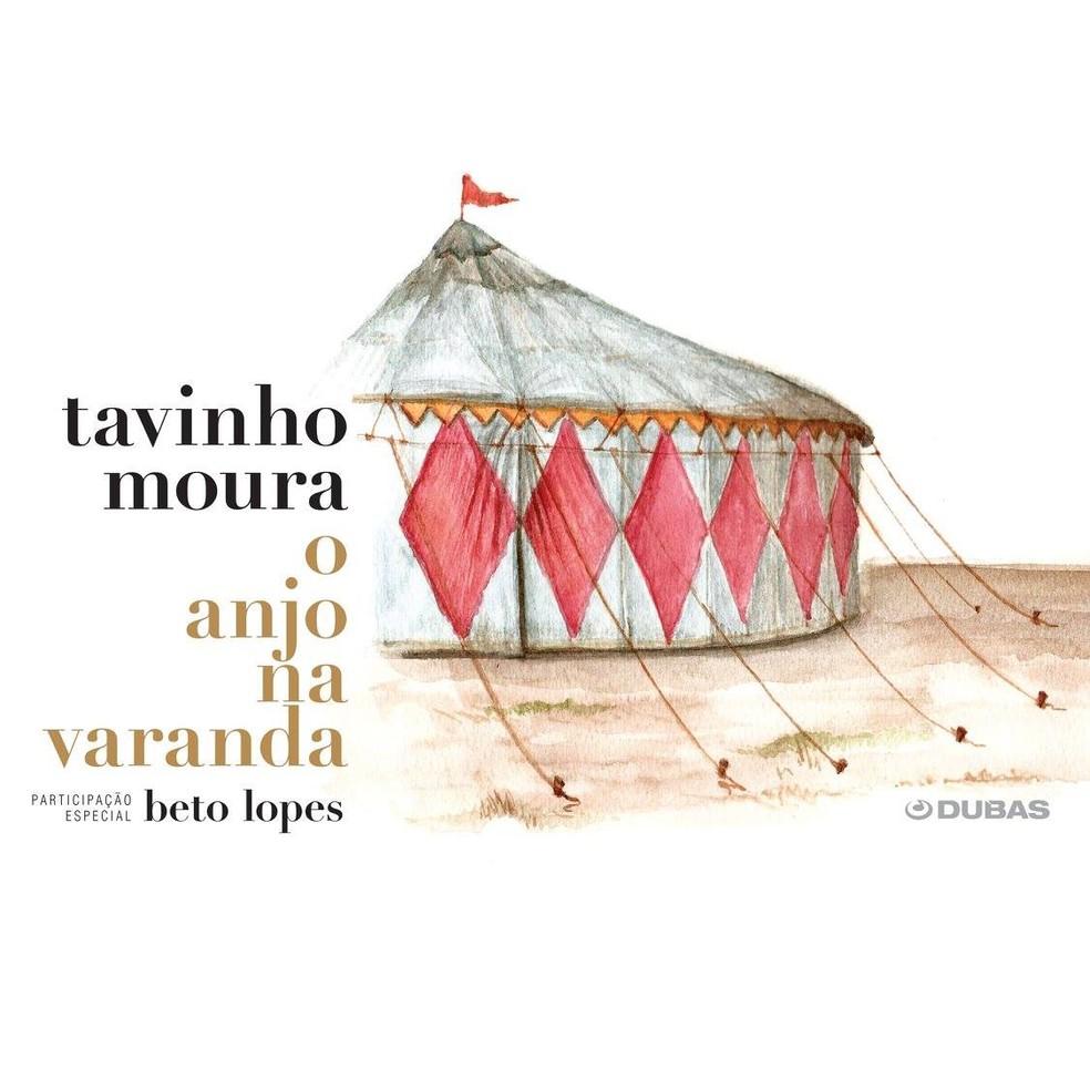Capa do álbum 'O anjo na varanda', de Tavinho Moura (Foto: Divulgação / Dubas)