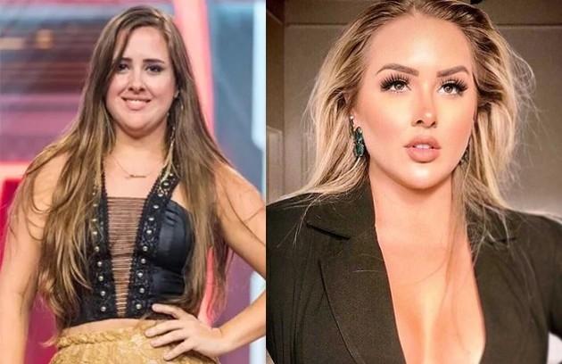 """A mudança na aparência de Patrícia Leitte, do """"BBB"""" 19, chama a atenção nas redes (Foto: Reprodução)"""