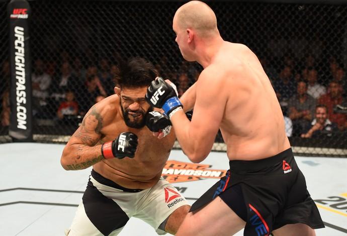 Stefan Struve Antônio Pezão UFC Holanda (Foto: Getty Images)