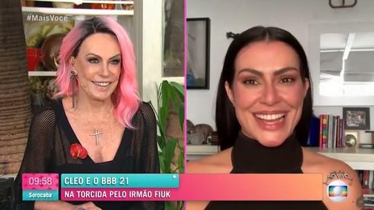 Cleo comenta participação de Fiuk no 'BBB21': 'Quebra de padrões'