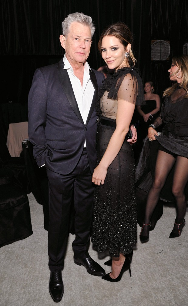 David Foster e Katharine McPhee (Foto: Getty Images)