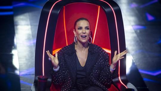Ivete Sangalo incentiva participante no 'The Voice Brasil': 'Cabe a cada um ser o que é'